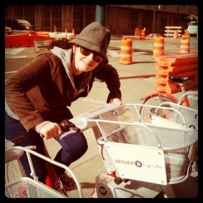 Katie on a Bcycle (Another Bogusky Initiative)
