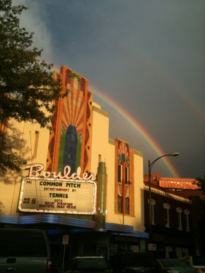 August 19, 2011 at the Boulder Theater in Boulder, Colorado